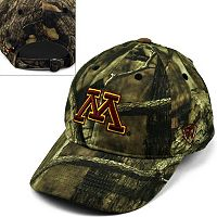 Adult Top of the World Minnesota Golden Gophers Resistance Mossy Oak Camouflage Adjustable Cap