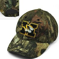 Adult Top of the World Missouri Tigers Resistance Mossy Oak Camouflage Adjustable Cap