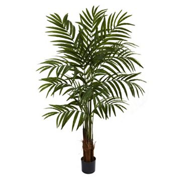 nearly natural 5-ft. Potted Palm Tree