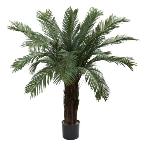 nearly natural 4-ft. Cycas Tree – Indoor & Outdoor