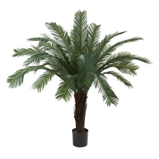 nearly natural 5-ft. Cycas Tree - Indoor & Outdoor