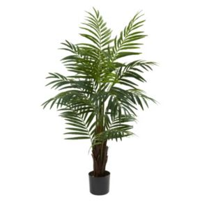 nearly natural 4-ft. Potted Areca Palm Tree