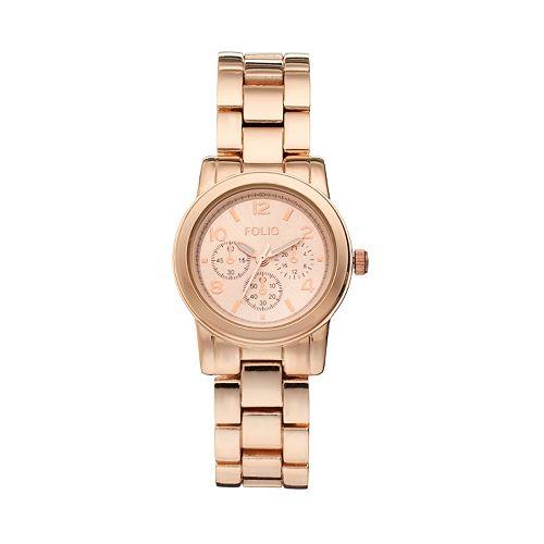 Folio Women's Stainless Steel Watch