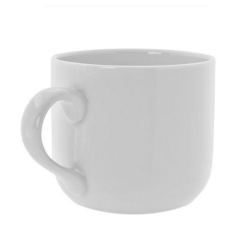 10 Strawberry Street Royal White 6-pc. Round Latte Mug Set