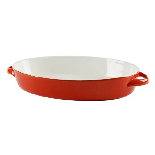 10 Strawberry Street Sienna Red 2-qt. Oval Baking Dish
