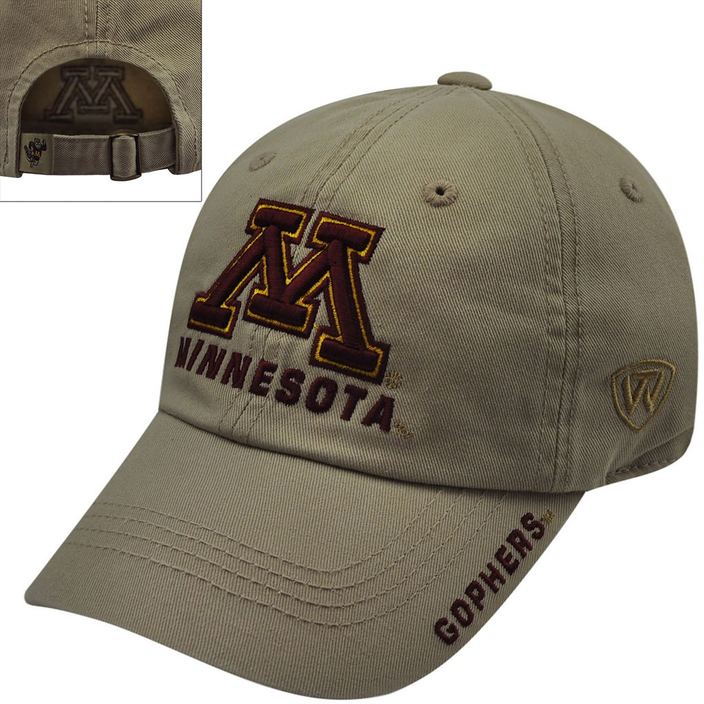 Adult Top of the World Minnesota Golden Gophers Undefeated Adjustable Cap