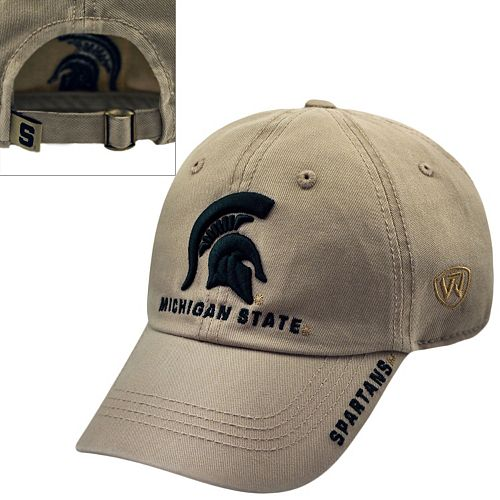 Adult Top of the World Michigan State Spartans Undefeated Adjustable Cap
