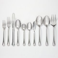 J.A. Henckels International Astley 18/10 Stainless Steel 65-pc. Flatware Set