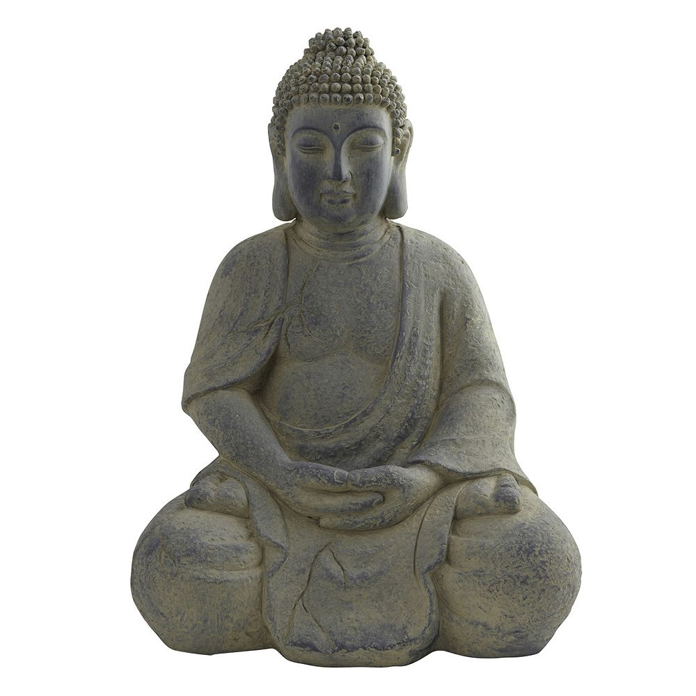 Nearly Natural Decorative Buddha Statue Indoor Outdoor
