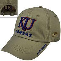 Adult Top of the World Kansas Jayhawks Undefeated Adjustable Cap