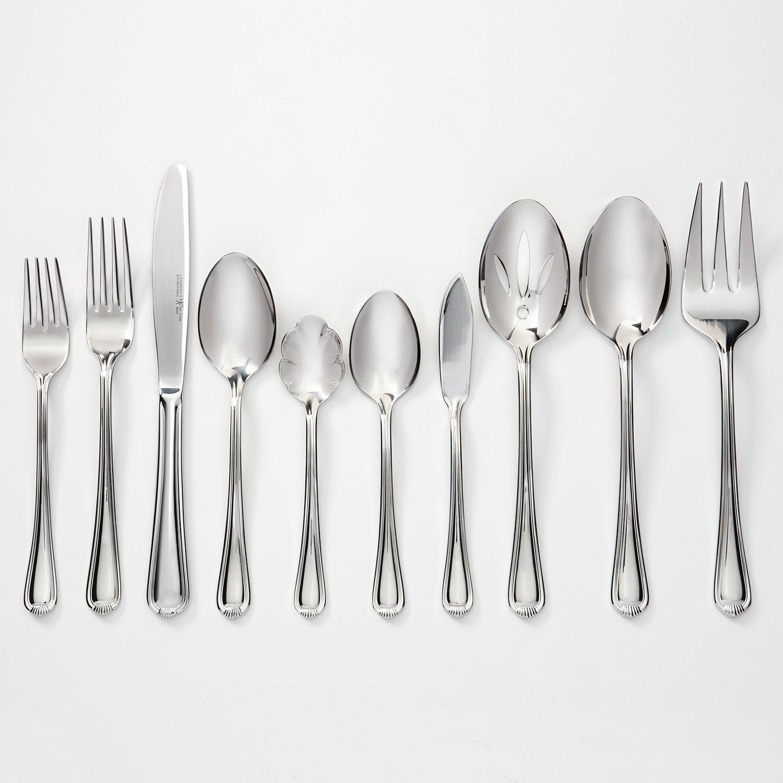 ja henckels alcea stainless steel 65pc flatware set - Ja Henckels