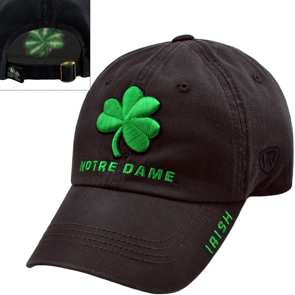 Adult Top of the World Notre Dame Fighting Irish Undefeated Adjustable Cap