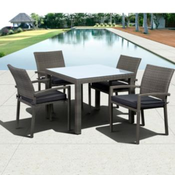 Atlantic Atlantis 5-pc. Gray Dining Set - Outdoor