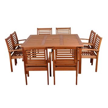 Amazonia Roma 9-pc. Dining Set - Outdoor