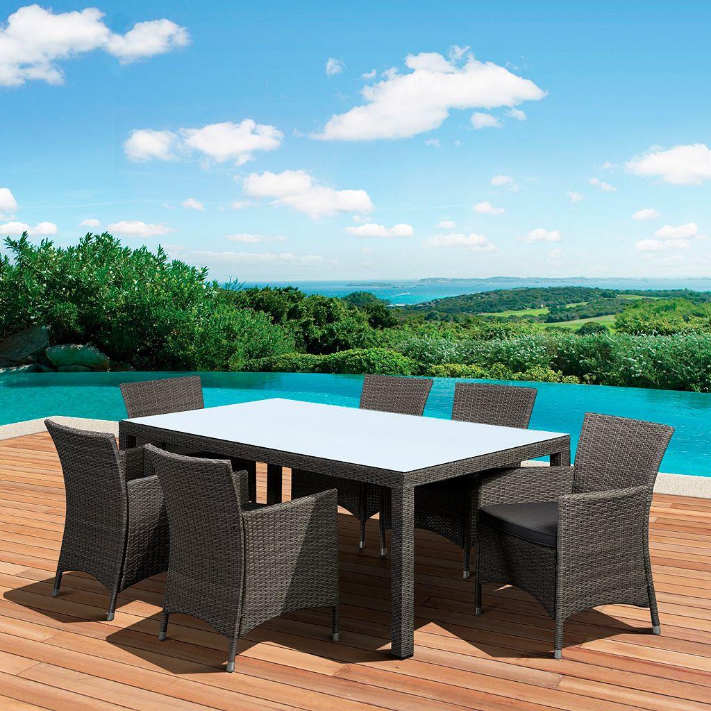 Atlantic Grand New Atlantis Deluxe Rectangular Patio Dining 7-piece Set