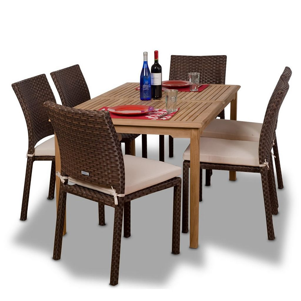 Amazonia Teak Glendale 7-pc. Dining Set - Outdoor