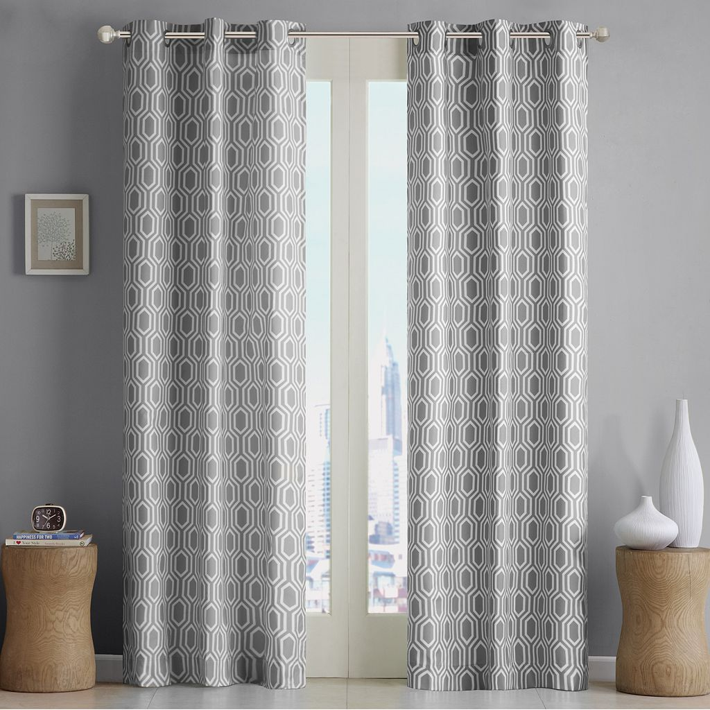 Intelligent Design 2-pack Lexie Window Curtains - 40'' x 84''