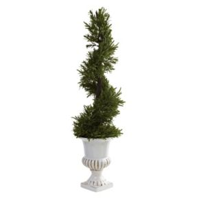 nearly natural Rosemary Spiral Tree - Indoor and Outdoor