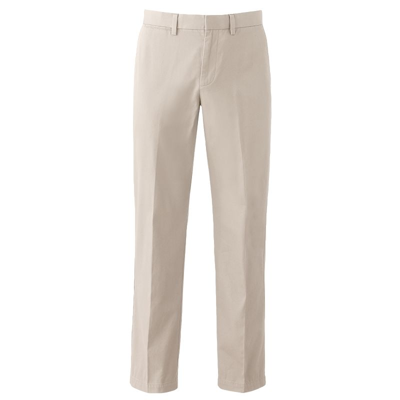 Apt. 9 Modern-Fit Chino Flat-Front Pants