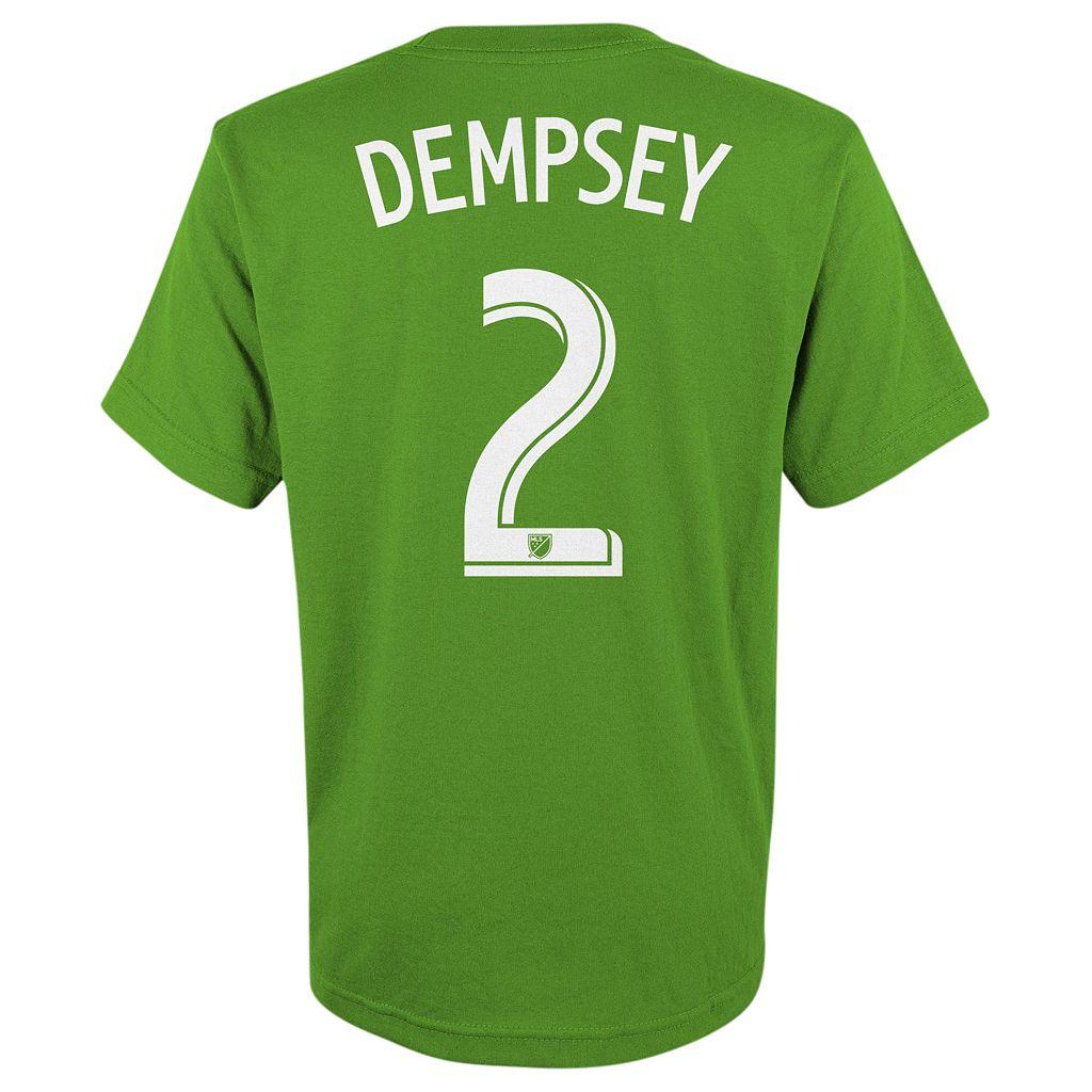 adidas Seattle Sounders Clint Dempsey Tee - Boys 8-20