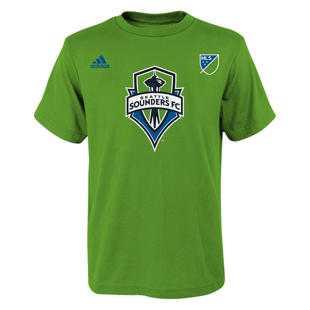 adidas Seattle Sounders Clint Dempsey Tee - Boys 8-20