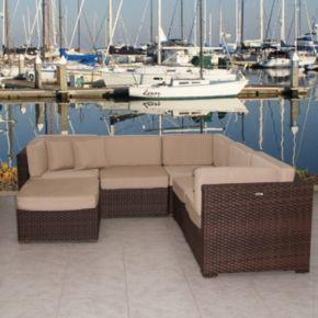 Atlantic Venetian Deluxe 6-pc. Sectional Patio Set - Outdoor