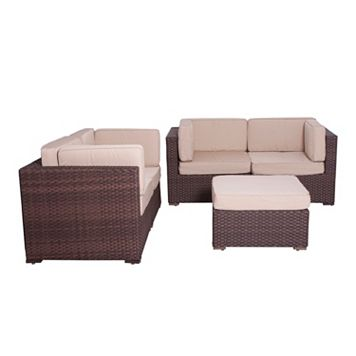 Atlantic Lille Deluxe 5-pc. Patio Set - Outdoor