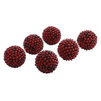 nearly natural 6-pc. Berry Ball Set