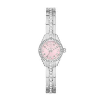 Jennifer Lopez Women's Crystal Stainless Steel Watch