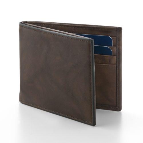 Croft & Barrow® Slim Billfold Wallet