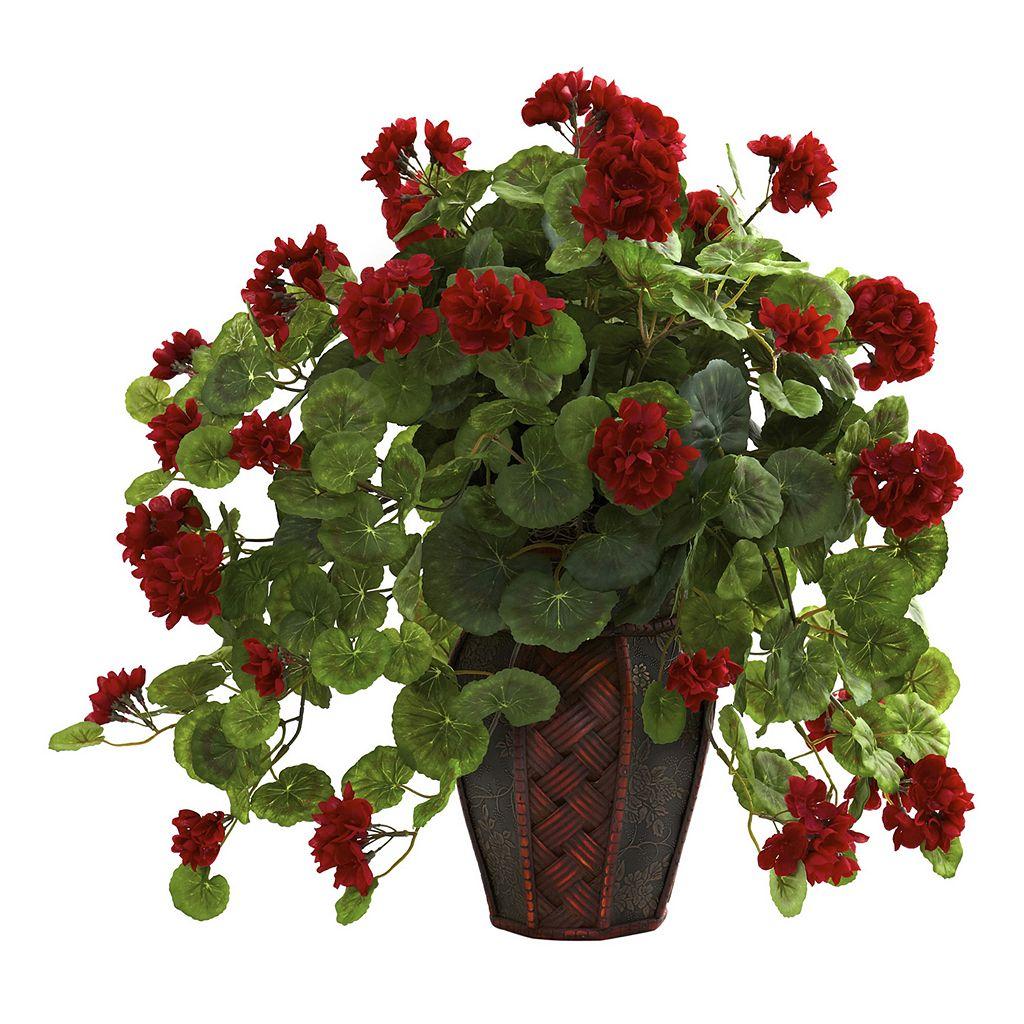 nearly natural Geranium Arrangement