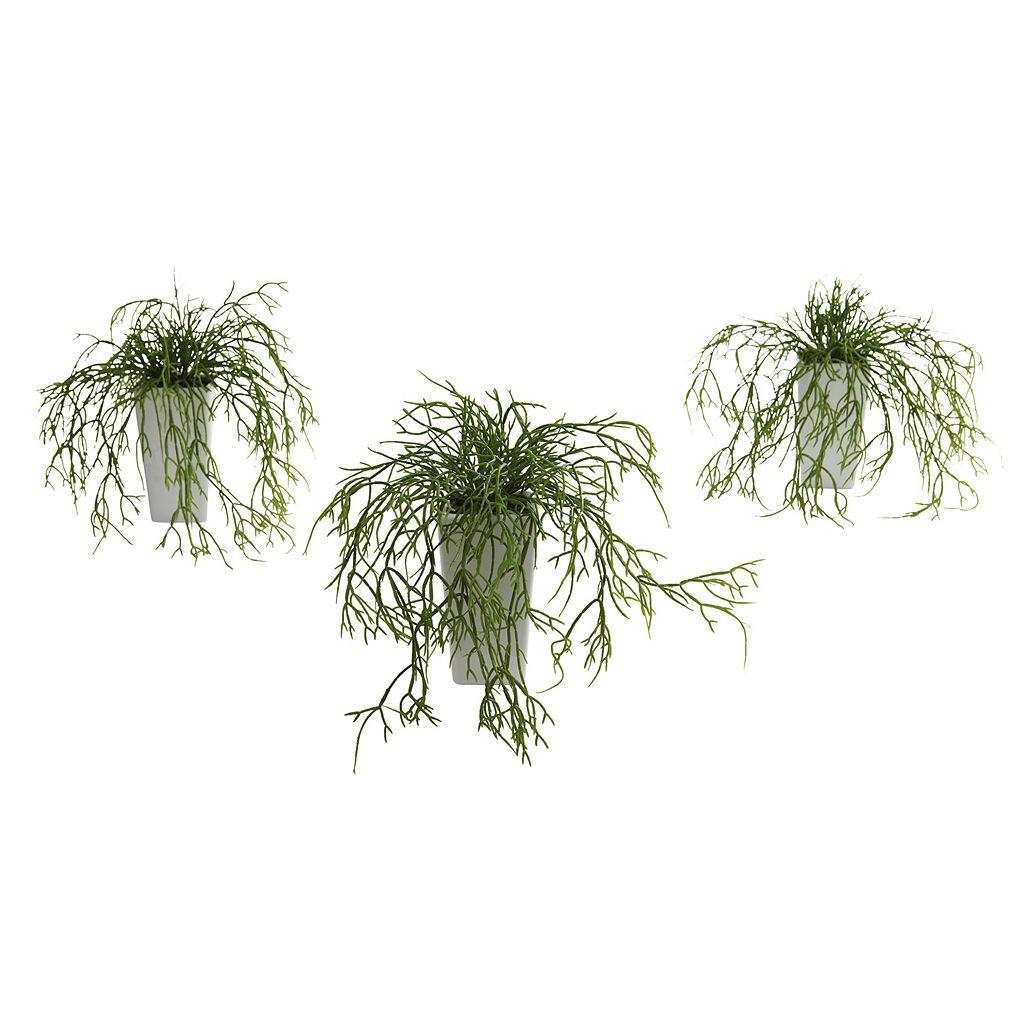 nearly natural 3-pc. Wild Grass Arrangement Set