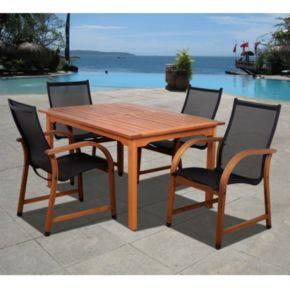 Amazonia Arthur 5-pc. Rectangular Dining Set - Outdoor