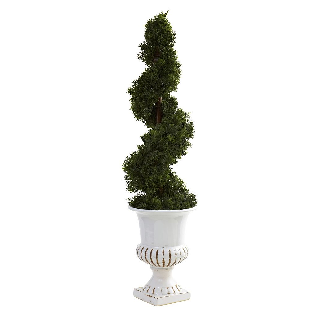nearly natural Cedar Spiral Tree - Indoor & Outdoor