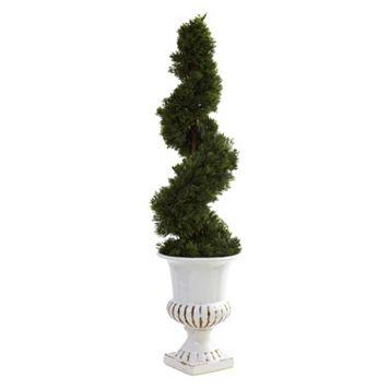 nearly natural Cedar Spiral Tree - Indoor & Outdoor