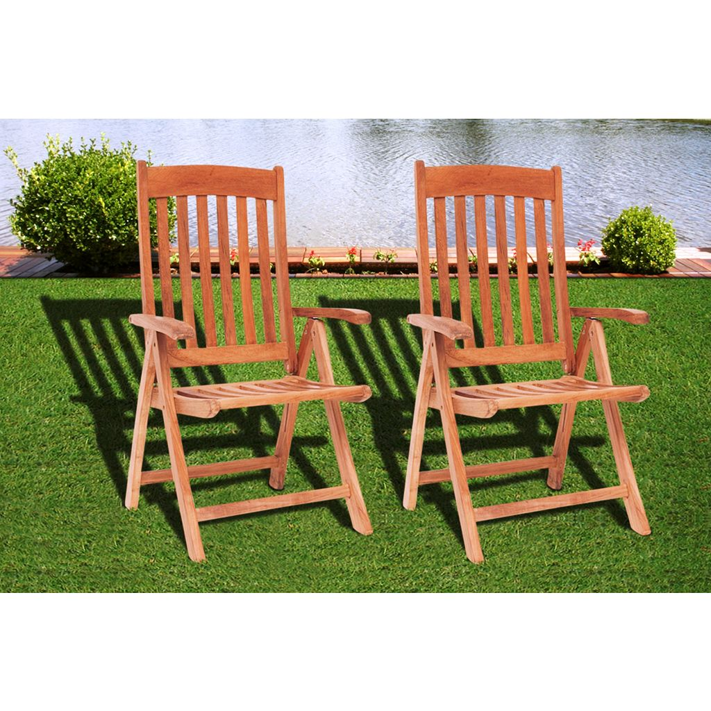 Amazonia Teak Notre Dame 9-pc. Square Dining Set - Outdoor