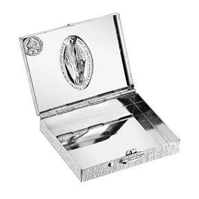 Symbols of Faith Miraculous Medal Rosary Box