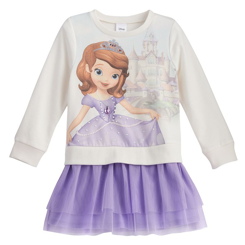 Disney Sofia the First Tiered Dress by Jumping Beans® - Toddler