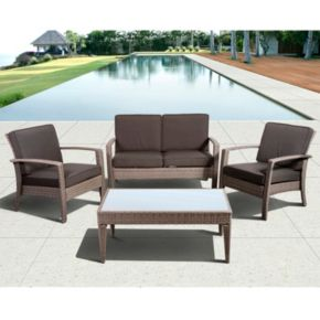 Atlantic Davie 4-pc. Patio Set - Outdoor