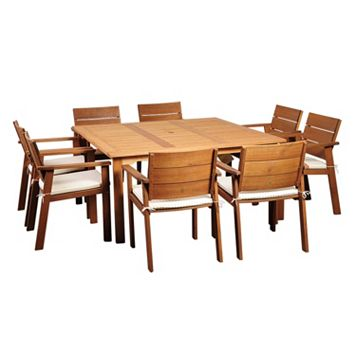 Amazonia Gregory 9-piece Dining Set - Outdoor