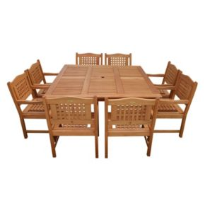 Atlantic Roma 9-pc. Square Dining Set - Outdoor