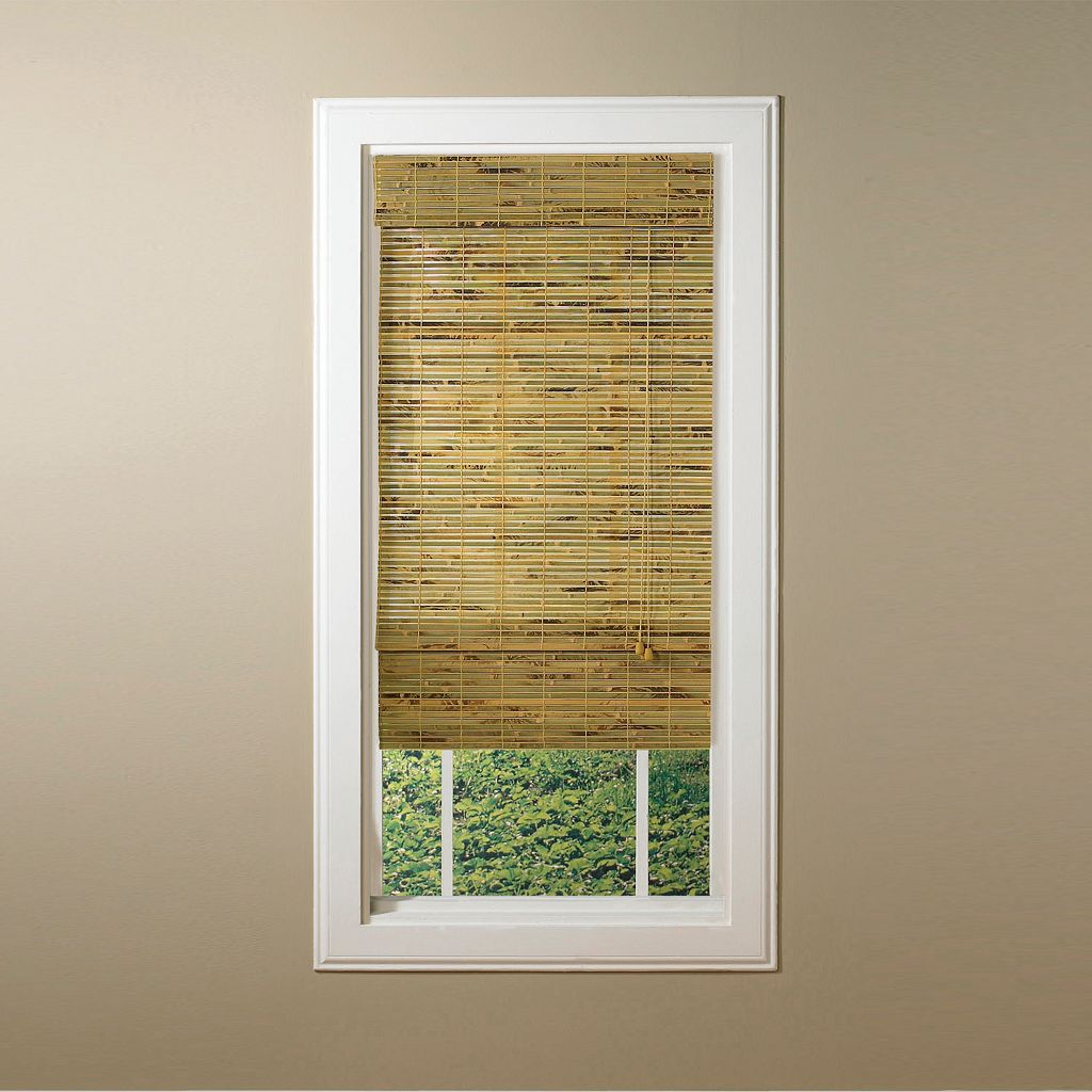 Kona Light Filtering Bamboo Roman Shades - 31'' x 72''