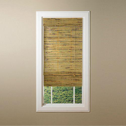 Kona Light Filtering Natural Bamboo Roman Shades - 48'' x 64''
