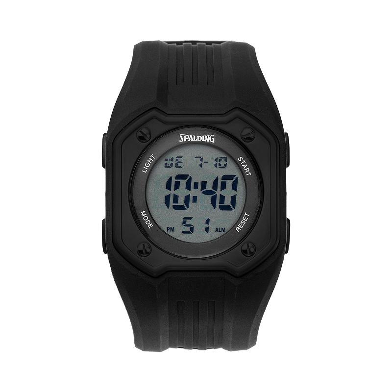 Spalding Diamond Men's Digital Chronograph Watch