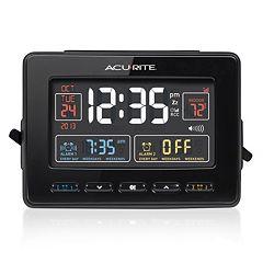AcuRite Atomic Dual Alarm Clock with USB Charging