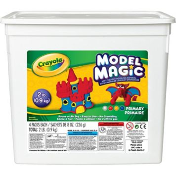 Crayola Model Magic 2-lb. Bucket of Assorted Colors