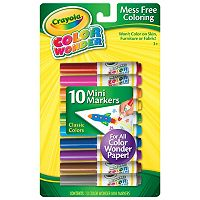 Crayola 10-ct. Color Wonder Mini Markers
