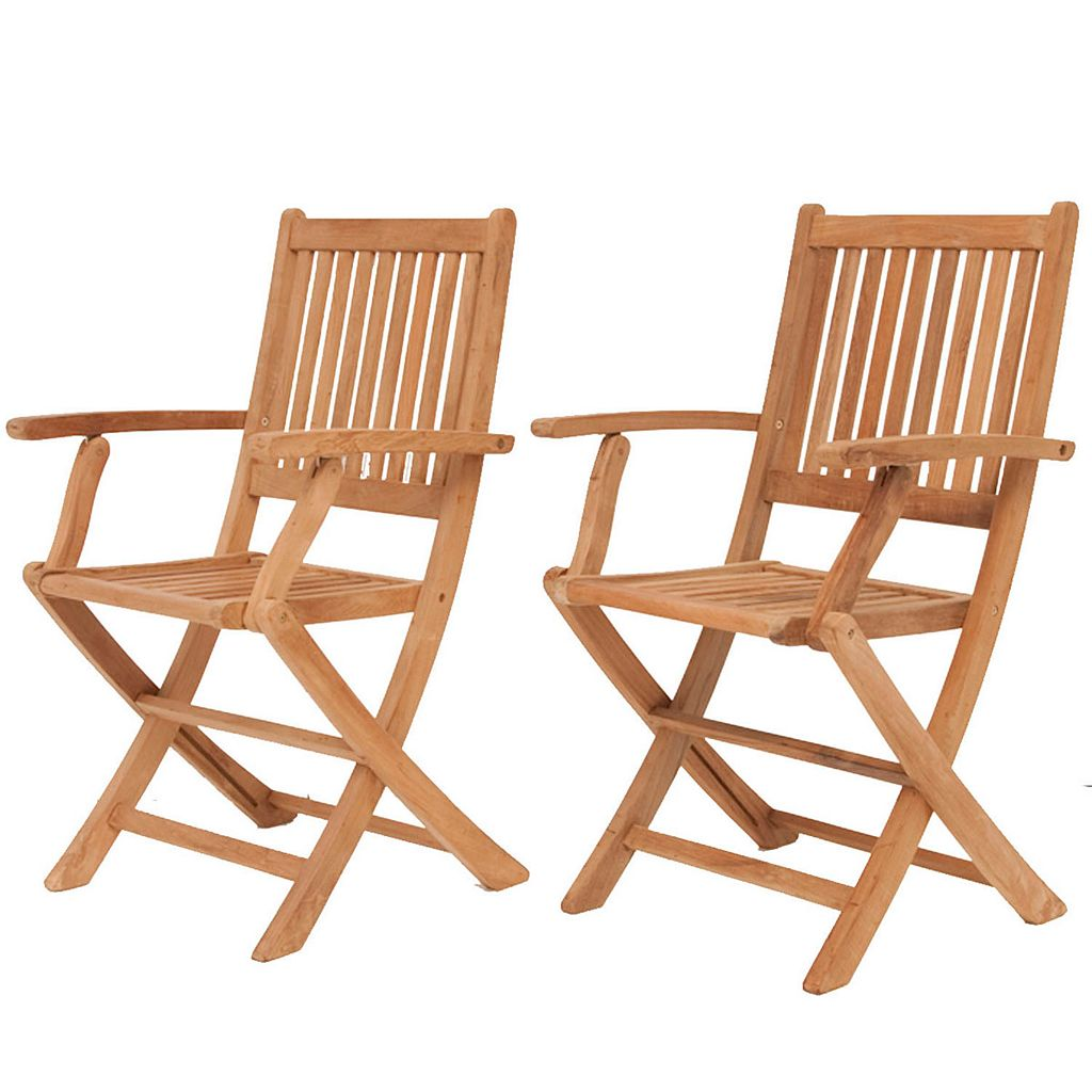 Amazonia Teak Utrecht Rectangular Patio Dining 7-piece Set