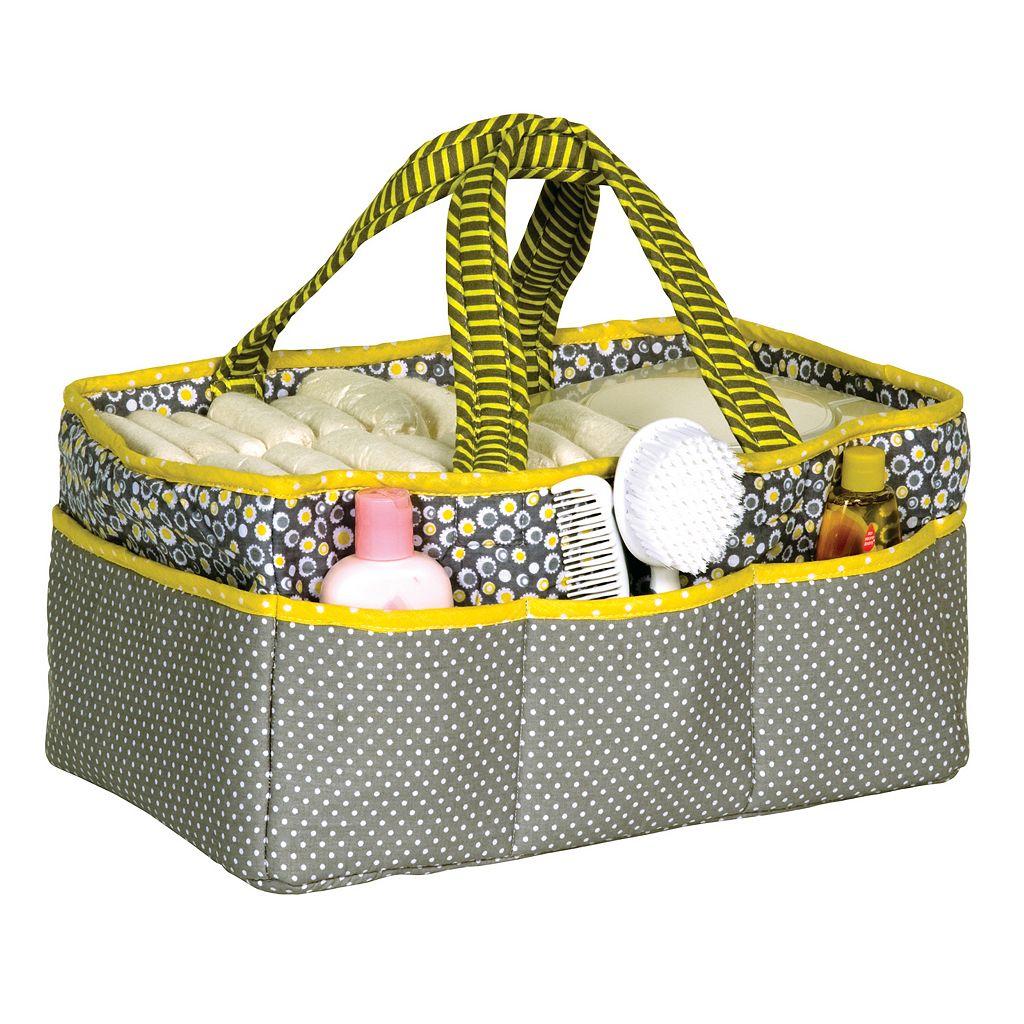 Trend Lab Hello Sunshine Diaper Storage Caddy