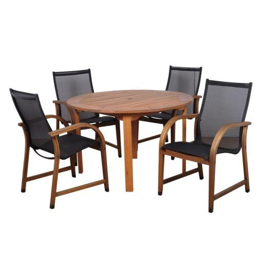 Amazonia Arthur 5-pc. Round Dining Set - Outdoor